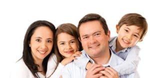 Nice warm family